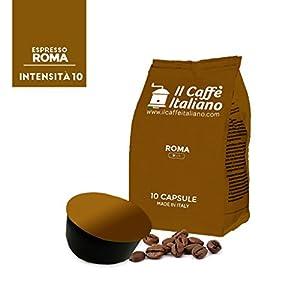 Shop for 100 capsules compatible Lavazza Blue - 100 Roma coffee capsules copatible coffee machine Lavazza Blue - Lavazza coffee machine capsules compatible Roma coffee - Il caffè italiano by Il caffè italiano