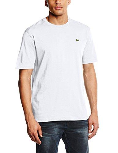 Lacoste Sport Herren Th7618 T-Shirt, Weiß (Blanc), Small (Herstellergröße: 3)
