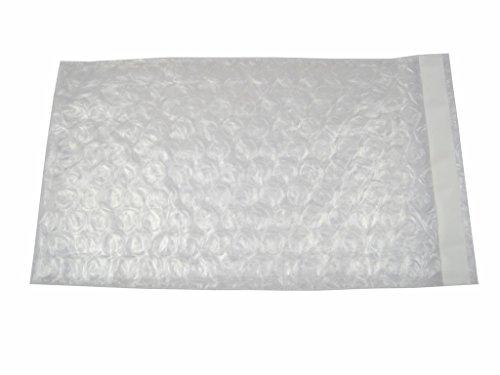 XSY Transparente Luftpolsterbeutel Selbstklebend Luftpolsterfolienbeutel Verpackt Polsterbeutel Schutzbeutel Plastik Taschen Verschiedene Größen 150 x 200mm+25mm - 10 Stück