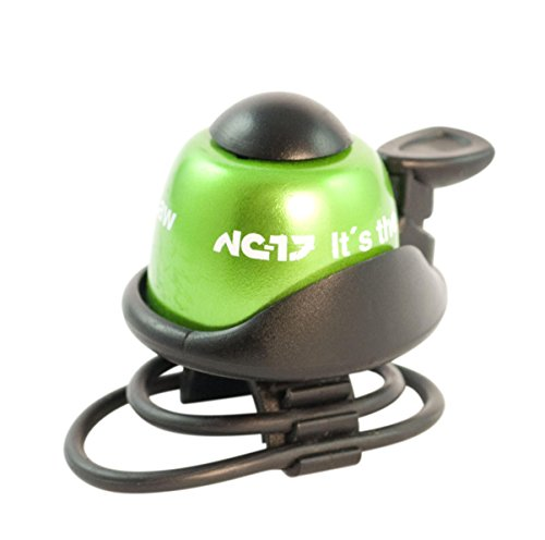 NC-17 Fahrradklingel / Fahrradglocke / Fahrradhupe / Klingel Glocke Hupe für Fahrrad / Aluminium / in 6 Farben erhältlich