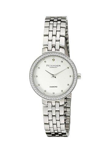 Rudiger Women's R3300-04-001 Hesse Analog Display Quartz Silver Watch