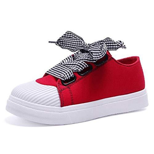 Sneakers Donna Moda Primavera Estate Farfalla Nodo Cucire Scarpe di Tela a Colori Misti Donne Basse Scarpe Casual Piattaforma