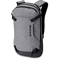 Dakine Heli Pack 12L Sac à Dos Homme, Greyscale, FR Fabricant : Taille Unique