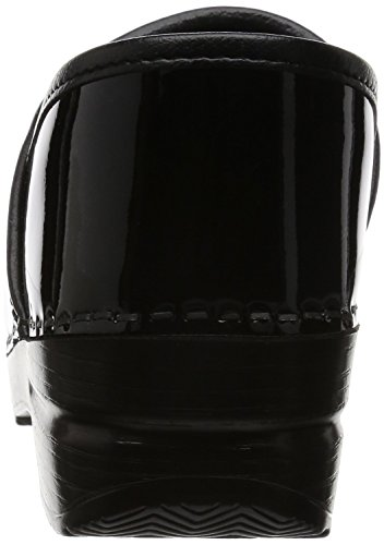 Dansko Professional Clog Cuir verni Sabots Black