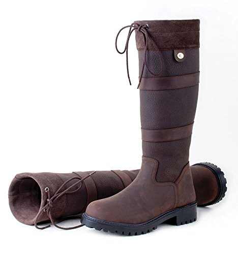 Rhinegold Elite Brooklyn Leather Country Boot
