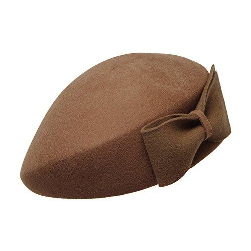 Élégants bérets/ chapeau de fourrure Joker/ Angleterre chapeau/Chapeau de retro automne-hiver C