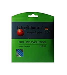 Kirschbaum Pro Line Evolution Tennis String Trim 1.25 mm x 12 m blue Review 2018 by Kirschbaum