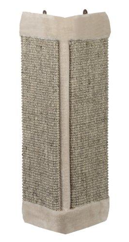 Nobby Angolo Scratch Board con Peluche, 61x 32cm, Grigio