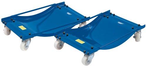 Draper Expert 23253 - Coppia di carrelli per ruote