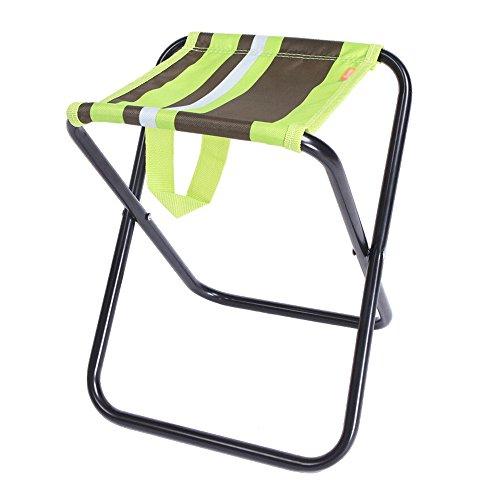 AJZXHE Outdoor-Klappstuhl Angeln Stuhl tragbare Klappstuhl Mini Trompete dicken Mazar Stuhl (Farbe : A) (Outdoor-gepolsterter Bank)