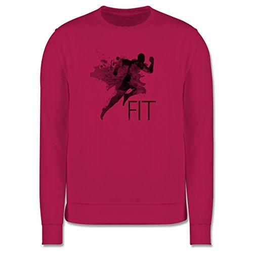 CrossFit & Workout - Fit - Splash - Herren Premium Pullover Fuchsia