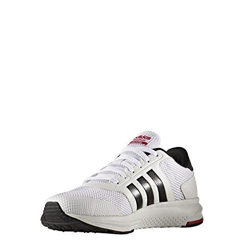 adidas Cloudfoam Saturn, Zapatillas Para Hombre, Blanco (Ftwbla/Negbas/Escarl), 44 EU