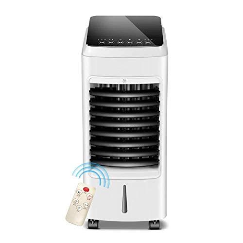 LEGOUGOU 3-in-1-Luftkühler, Tischventilator, Fernbedienung, Geräuscharm, Heizung, Luftbefeuchter, Tragbarer 3-Gang-Ventilator, Kleine Klimaanlage Im Büro Wohnzimmer Schlafzimmer Mobile Klimageräte