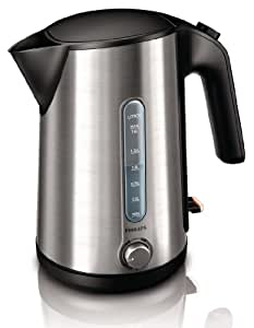 Philips HD4631/20 Wasserkocher (1.6 l, 2400 W, Temperaturkontrolle) schwarz/Edelstahl, ETM Testmagazin Urteil Gut (02/12)