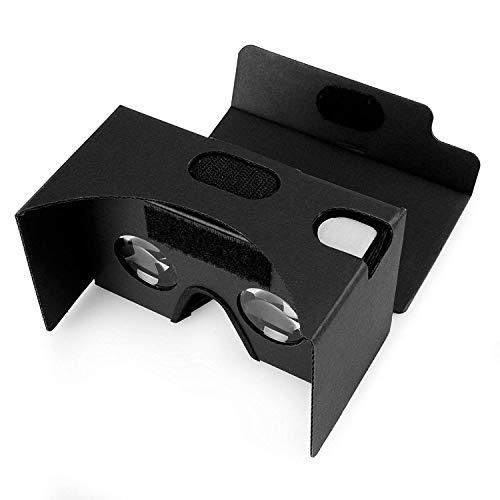 JueJinren Google Cardboard Kit mit Gurten Pro 3D Virtual Reality kompatibel mit Android & Apple...