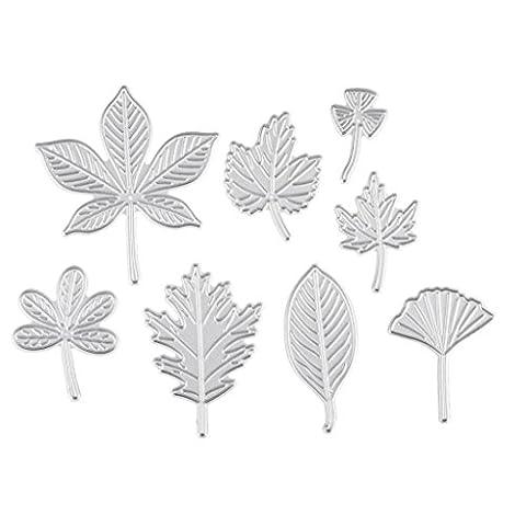FNKDOR Stanzformen Stanzschablonen Metall Schneiden Schablonen für DIY Scrapbooking Album Papier Karten Sammelalbum Dekor (C)