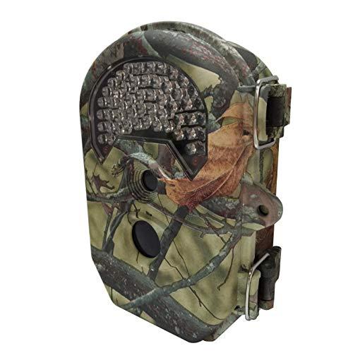 AG Tragbare Jagdkamera Trail Camera - 16 Mp 1080 P Full Hd Wildlife Reconnaissance mit 52 Miniatur-940-Nm-Action-Nachtsichtgeräten, 145 & Deg; Weitwinkelobjektiv Wildlife Surveillance und Home Securi - Home-securi