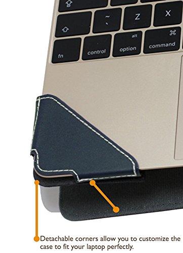 Broonel London Profile Series Luxus Laptop aus blau Leder frVERICO UniBook 116 White format contact Windows 10 Kategorien