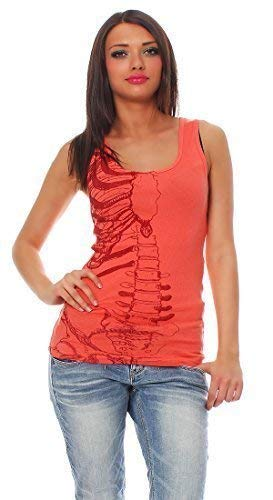 Iron Fist Damen T-Shirt Top Caged Rib Tank (L)