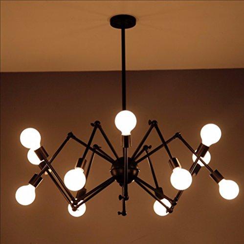 YFF@ILU Vintage spider Kronleuchter. kreative Persönlichkeit. industriellen Eisen. Wohnzimmer Esszimmer. Bekleidungsgeschäfte. Teleskop Satelliten Kronleuchter