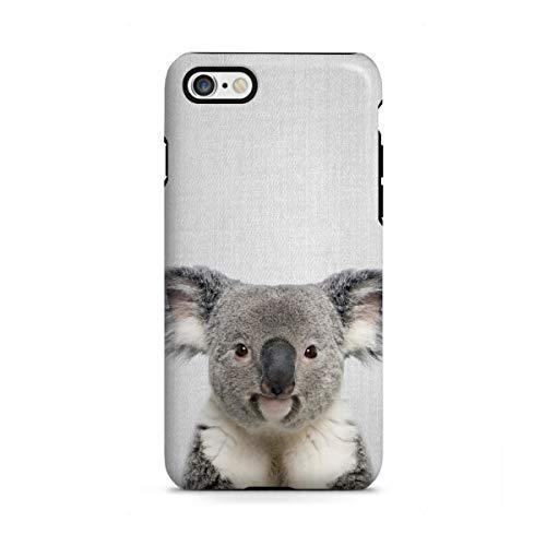 artboxONE Apple iPhone 6 Tough-Case Handyhülle Koala - Colorful von Gal Design - Tough-Case Handyhülle Smartphone Case