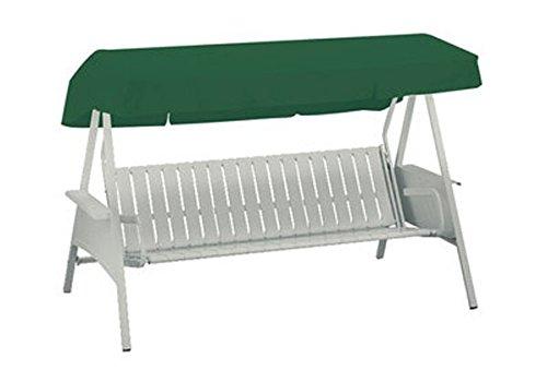 Kettler 05991-021 Toit pour balancelle 146 x 207 cm Vert foncé