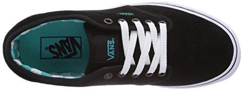 Vans ATWOOD Damen Sneakers Schwarz ((Suede) black/p 7A8)