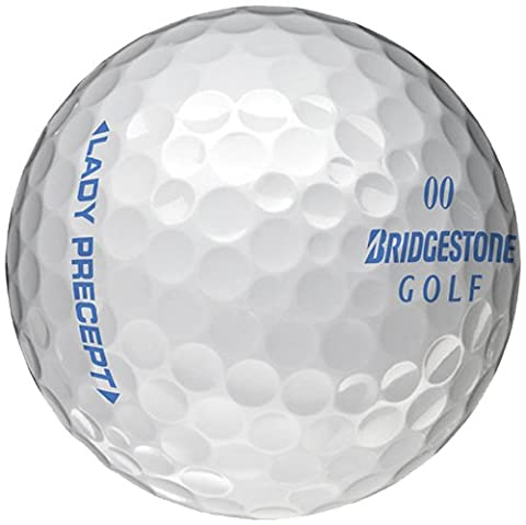 BRIDGESTONE Golfball Lady Precept, White, M, 1b4lw