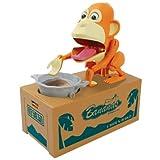 Choken Bako Robotic Monkey Chip Coin Piggy Bank Tan Version