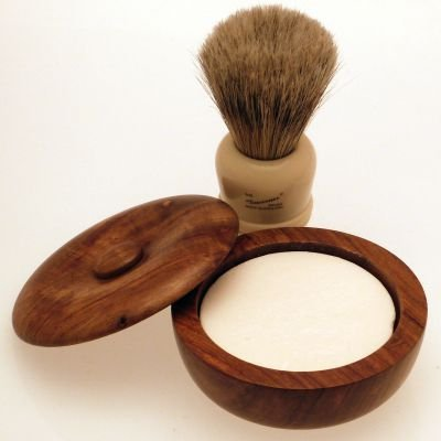 Progress Vulfix 404 Grosvenor Badger/Bristle shaving brush & shaving bowl