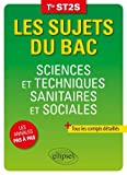 Sciences et techniques sanitaires et sociales tle ST2S...