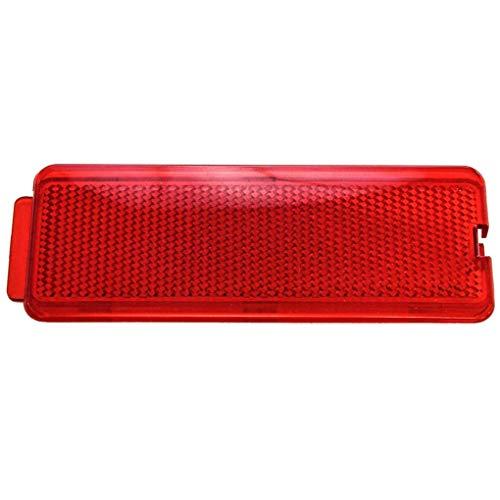 Dergtgh Haustür-Innenverkleidung Trim Red Reflektor Ersatz Ford 1999-2007 F250 350 450 550 F81Z2523820AA -