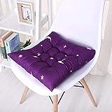 HhGold Einfarbig, Sitzkissen Kissen Bürostuhl Stuhl Computer Kissen Verdickt Klasse Teppich Kissen Abschreibung Ass-O 45X45Cm (18X18Cm) (Farbe : M, Größe : 45x45cm(18x18inch))