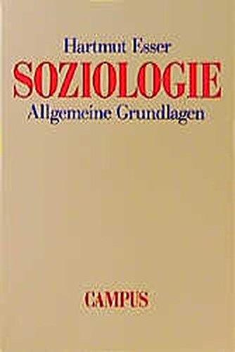 Soziologie: Allgemeine Grundlagen