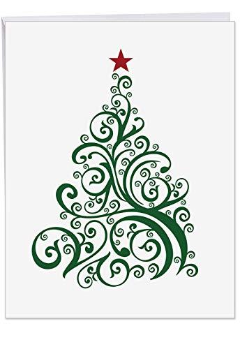 Nur Fir Sie Weihnachten Witz Karte, Papier, 1 Jumbo Christmas Card & Enve. (J6019DXSG), 1 Jumbo Christmas Card & Enve. (J6019DXSG)
