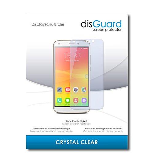 disGuard® Bildschirmschutzfolie [Crystal Clear] kompatibel mit Haier Voyage V4 [3 Stück] Kristallklar, Transparent, Unsichtbar, Extrem Kratzfest, Anti-Fingerabdruck - Panzerglas Folie, Schutzfolie