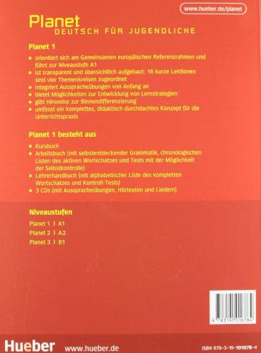 PLANET 1 Kursbuch (alum.)+CD-Audio (2)
