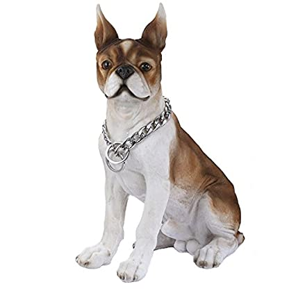 Trendsmax 13mm Silver Tone Curb Cuban Link 316L Stainless Steel Dog Choke Chain Collar 12-30inch 3