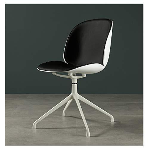 Moderner minimalistischer Käfer-Drehstuhl der Bürocomputer-Stuhlrückendrehung einzelnes Hauptstudienstuhl-4