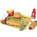 Buyger Hamburger Lebensmittel Küchen Rollenspiele Spielzeug Geschenk für Kinder
