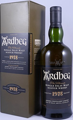 Ardbeg 1975 Limited Edition Bottled in the Year of 2001 Islay Single Malt Scotch Whisky 43,0%