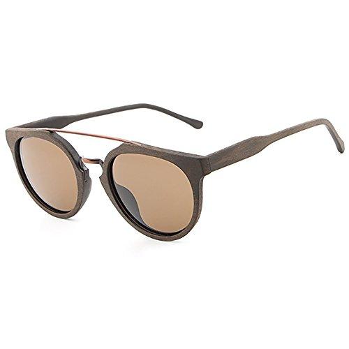 SHEEN KELLY Retro Bambus Cat eye Sonnenbrille 100% Handarbeit Holz Sonnenbrillen Polarisiert Moderne Sonnenbrille Runden