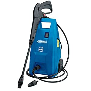 Draper 31562 1500 W 230 V Pressure Washer with Total Stop Feature