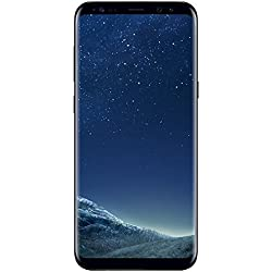 Samsung Galaxy S8+ Smartphone (6,2 Zoll (15,8 cm) Touch-Display, 64GB interner Speicher, Android OS) midnight black Samsung Galaxy S8