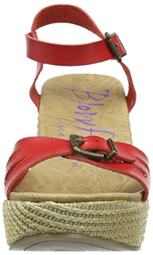 Blowfish Damen Driveln Offene Sandalen Rot (bright red/natural)