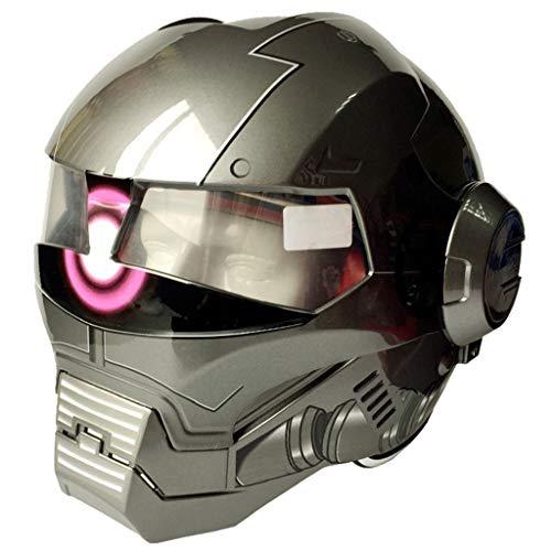 Wthfwm Iron Man Moto Casco Marvel Full Face Cascos