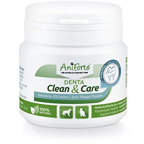 AniForte Denta Clean and Care Powder 80g. Perros Gatos