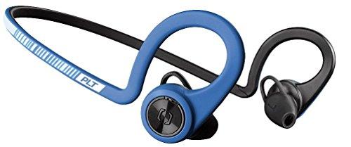 Plantronics BackBeat FIT Cuffie auricolari sportive wireless con microfono, impermeabili e idrorepellenti, Blu