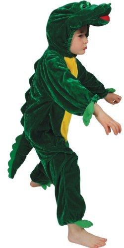 Imagen de cocodrilo disfraz. tamaño medio de 5 6 años. alternativa
