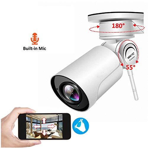 Preisvergleich Produktbild YA 1080P PTZ Kugel IP-Kamera WiFi HD 4XZoom3.6mm Wasserdichte Nachtsicht Onvif WiFi Kamera Mini Outdoor-Überwachungskamera